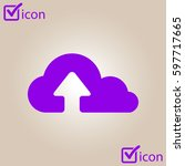 upload from cloud icon.  upload ...