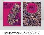 Two Banners For Yoga Retreat O...