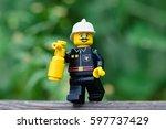 khabarovsk  russia   july 25 ... | Shutterstock . vector #597737429