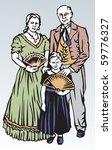historical family | Shutterstock .eps vector #59776327