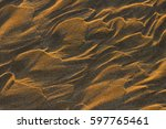 relief from waves on the... | Shutterstock . vector #597765461
