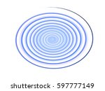 colored circles on  background. | Shutterstock . vector #597777149