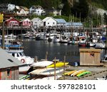 Various Type Of Boats Mooring...