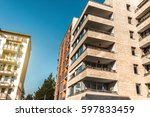 residential architecture in... | Shutterstock . vector #597833459