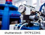 turbine generators.... | Shutterstock . vector #597912341