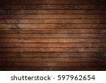 old oak wood rustic retro...   Shutterstock . vector #597962654