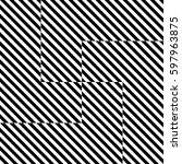 vector seamless pattern.... | Shutterstock .eps vector #597963875