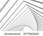 abstract architecture | Shutterstock .eps vector #597983369