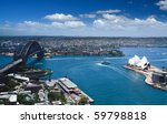 sydney harbour opera house and... | Shutterstock . vector #59798818