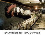 coal mine | Shutterstock . vector #597999485