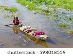 mekong delta  vietnam   22 dec  ... | Shutterstock . vector #598018559