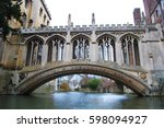 Bridge Of Sighs  Cambridge  Uk...
