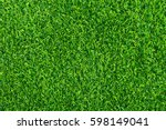 green grass background texture. ... | Shutterstock . vector #598149041