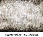 grunge black wall | Shutterstock . vector #59820103