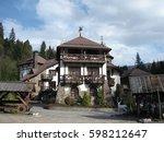 old castle   Shutterstock . vector #598212647