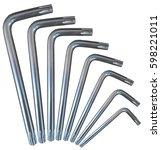Torx Key Silver Set Arc...