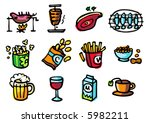food illustrations 2   others... | Shutterstock .eps vector #5982211