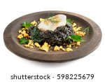 Black Risotto With Squid Ink...