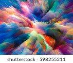color explosion series.... | Shutterstock . vector #598255211