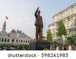 ho chi minh city  vietnam   mac ... | Shutterstock . vector #598261985