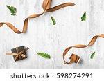 home interior scene  top view ...   Shutterstock . vector #598274291