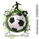 soccer design background | Shutterstock .eps vector #59828032