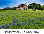 an interesting abandoned old...   Shutterstock . vector #598292069