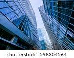 london office building... | Shutterstock . vector #598304564