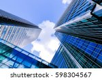 london office building... | Shutterstock . vector #598304567