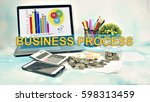 business concept images with... | Shutterstock . vector #598313459