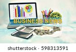 business concept images with... | Shutterstock . vector #598313591