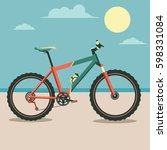 bicycle | Shutterstock .eps vector #598331084