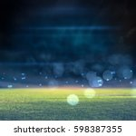 stadium in lights 3d | Shutterstock . vector #598387355