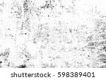 black and white grunge urban... | Shutterstock . vector #598389401