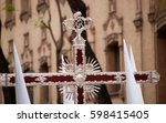 the crosses in  processions | Shutterstock . vector #598415405