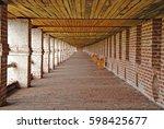 kirillov  russia   july  2011 ... | Shutterstock . vector #598425677