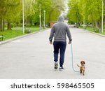 Stock photo  walk the dog 598465505