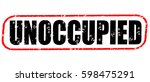 unoccupied red and black stamp... | Shutterstock . vector #598475291