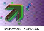 navigation texture vector | Shutterstock .eps vector #598490537