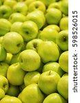 Fresh Green Apples In...