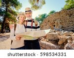 family  age  tourism and travel ... | Shutterstock . vector #598534331