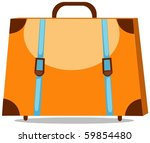 illustration of isolated travel ... | Shutterstock .eps vector #59854480