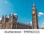 world famous landmark in london....   Shutterstock . vector #598562111