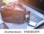 Photographer Working Space Wit...