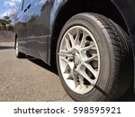 Small photo of Car tire change
