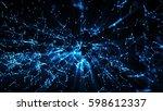 3d rendering abstract... | Shutterstock . vector #598612337