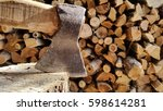 Chopping Wood With An Ax...