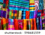 Many Multicolored Textiles Being Representative - Fine Art prints