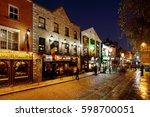 dublin  ireland   dec 28  a... | Shutterstock . vector #598700051