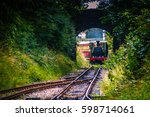 Steam Train Arriving At The...